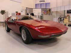 Das legendäre Keil-Design  OPEL Diplomat Coupe V8 /BITTER CD  1969