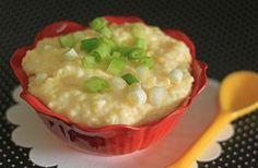 Creamy Parmesan Sour Cream Polenta