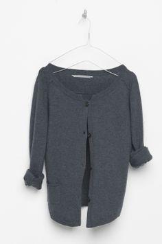 LIEBE › CARDIGANS › colour jeans