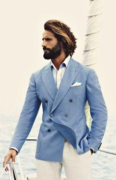 Pale Blue jacket