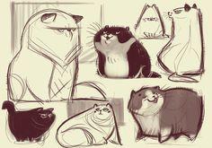 069: Cat Scribbles