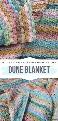 Crochet blanket patterns free 185773553366085668 - Dune Blanket Free Crochet Pattern Delicate rows of subtle shells are soft and look beautiful on both sides. Crochet Afghans, Crochet Shell Blanket, Crochet Amigurumi Free Patterns, Afghan Crochet Patterns, Crochet Stitches, Crochet Baby, Free Crochet, Knitting Patterns, Knit Crochet