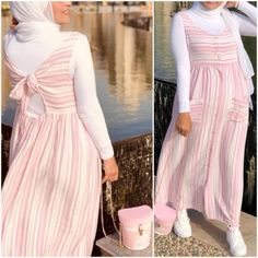 How to renew your style with hijab – Just Trendy Girls Hijab Dress Party, Hijab Style Dress, Modest Fashion Hijab, Modern Hijab Fashion, Muslim Fashion, Skirt Fashion, Fashion Dresses, Women's Fashion, Fashion Trends