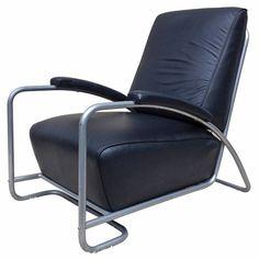 Gilbert Rhode Leather Club Chair