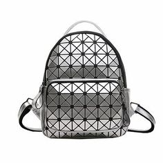 6c8cf5f90 Buy Women Backpack Geometric Plaid Sequin Female Scool Backpacks For  Teenage Girls Pu Leather Bagpack Holographic Women Backpack $37.95- ICON2