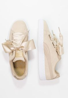 a965b1aeec4 Chaussures Puma SUEDE HEART SAFARI - Baskets basses - safari beige  99