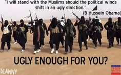 """obama: """"I will stand with the muslims, should the winds shift in an ugly direction"""" It looks like the wind has turned ugly and is blowing a nasty stench towards the West."""