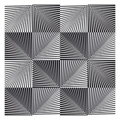op art image of the day - five lined pyramids - Optical Illusions Drawings, Illusion Drawings, Art Optical, Illusions Mind, How To Draw Illusions, Optical Illusion Tattoo, Op Art Lessons, Illusion Kunst, 3d Illusion Art