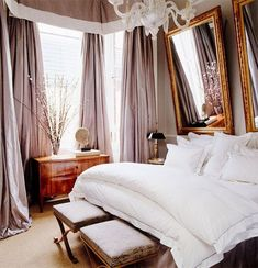 26 Rustic Bedroom Design and Decor Ideas for a Cozy and Comfy Space - The Trending House Bedroom Layouts, Bedroom Designs, Bedroom Ideas, Bedroom Inspiration, Romantic Bedroom Lighting, Headboard Alternative, Most Comfortable Bed, Comfy Bed, Passion Deco