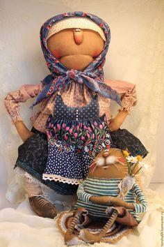 Купить Поздравляю!.. - комбинированный, текстильная кукла, ароматизированная кукла, интерьерная кукла, котик, Праздник, ткань