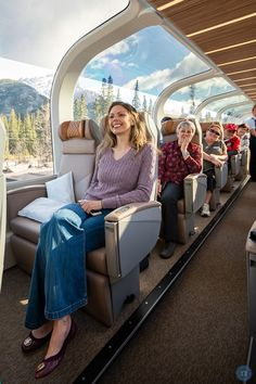 What is the Rocky Mountaineer Gold Leaf Experience Like? Ways To Travel, Places To Travel, Places To Go, Train Travel, Rocky Mountains, Gold Leaf, Vacation Trips, Dream Vacations, Rocky Mountaineer Train
