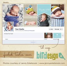 Facebook custom timeline cover  E3455 by birdesign on Etsy, $8.00