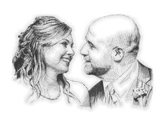 See related links to what you are looking for. Wedding Drawing, Wedding Illustration, Cross Hatching, Wedding Couples, Gold Wedding, Wedding Styles, Wedding Planner, Sketches, Drawings