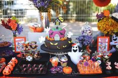 Amazing Halloween party! See more party planning ideas at CatchMyParty.com!