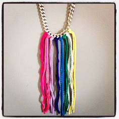 Joannie colorful necklace