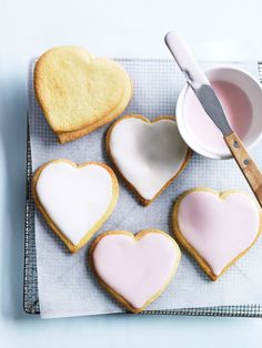 love-heart cookies from donna hay magazine