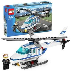 Lego Police Helicopter.