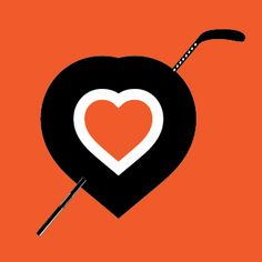 "Philadelphia ""Hockey Heart"" T-shirt $16.99  www.barktees.com"