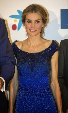 Queen Letizia of Spain attends International Journalism Award and the 25th Anniversary of 'El Mundo' newspaper at The Westin Palace Hotel on 20.10.2014 in Madrid, Spain.