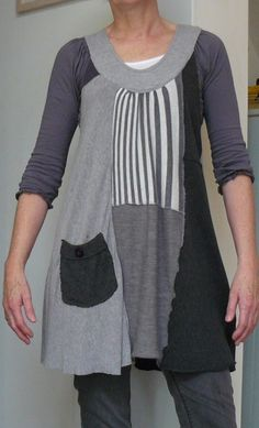 Recycled old cardigans - Kind of All Saints top