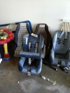Found these I'm Craigslist a couple of weeks ago. Wife bought them she needed them for her collection. Toddler Car Seat, Baby Car Seats, Old Ads, Childhood Memories, Vintage Cars, Little Ones, Baby Items, Old School, Children