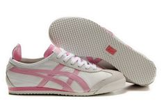 Asics Onitsuka Tiger Mexico 66 in white and pink