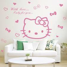 Hello Kitty /'Luminous/' Padded Sticker Wall Decoration Brand New Gift
