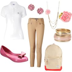 an outfit for the girl with a uniform.
