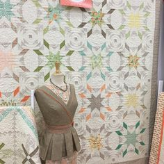 Refresh by Sandy Gervais - Fall Quilt Market 2015 ~ Part 1 « modafabrics