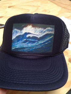 Custom heat applied trucker hat http://customplanet.com/TruckerHats-Otto-Cap-32-467.aspx