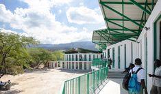 La Référence de Ganthier School / Studio PHH Architects | ArchDaily Image Facebook, Steel Railing, Railings, Fair Grounds, Studio, Architecture, Fun, Travel, Outdoor Decor