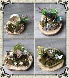Hand Made spring decorations by hastiekido.