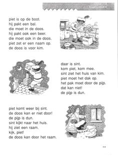 VLL Sinterklaas Kopieerblad 4 Speech Language Therapy, Speech And Language, Coloring Pages, Homeschool, Teaching, Education, Logos, Quote Coloring Pages, Colouring Pages