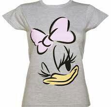 Ladies Grey Marl Daisy Duck Disney T-Shirt Disney Shirts For Family, Shirts For Teens, Disney Diy, Disney Trips, Daisy Duck Party, Donald And Daisy Duck, Donald Duck Shirt, T Shirt Painting, Lady Grey