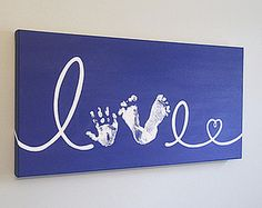 Hand And Footprint Art | Craft projects for every fan!