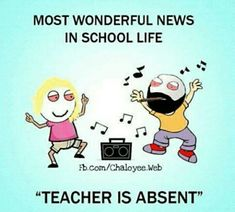 Teacher is Absent Funny Facts, Funny Quotes, Funny Memes, Jokes, Childhood Memories 90s, School Memories, School Life, School Days, Hood Memes