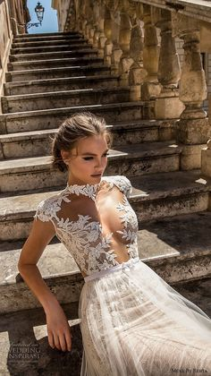 d3e573a199 (via Muse by Berta 2018 Wedding Dresses — Sicily...
