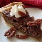 World's best pecan pie (from allrecipes), no joke.  It's made without karo syrup so it's not goopy and overly sweet.  You will thank me!