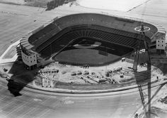 Old Baseball Photos @OTBaseballPhoto  7h7 hours ago More  Angel Stadium, Anaheim, ca 1965 - Construction is almost complete on Angels new ballpark. See near bottom the light towers still on ground