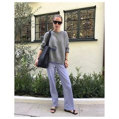 """3,369 Likes, 41 Comments - ANINE BING (@aninebing) on Instagram: """"So excited about fall..  Gonna wear this Rosie Cashmere knit all fall & winter❥…"""""""