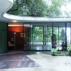 Casa Das Canoas - Oscar Niemeyer's house just outside Rio. OWI // Office for Word and Image