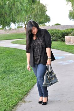 Curvy Girl Chic - Plus Size Fashion and Style Blog: everyday allison  #ootd #plussize