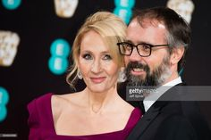 J.K. Rowling and Neil Murray attend the 70th EE British Academy Film Awards (BAFTA) at Royal Albert Hall on February 12, 2017 in London, England.