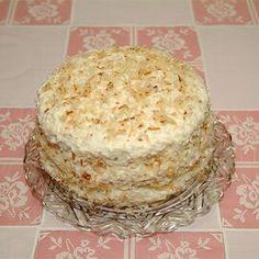 Rave Reviews Coconut Cake