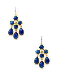 Eddera Lapis Lazuli Georgina Earrings