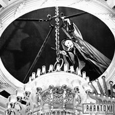 Don't look up. Phantom of the Opera. Universal Monsters, September 2017