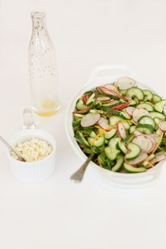 Cucumber Salad with Radish and Dill, Wholeliving.com