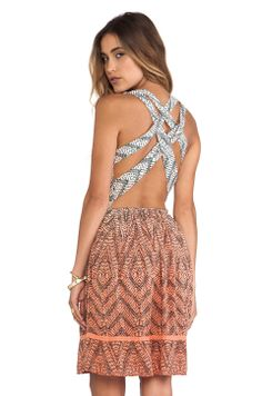 Gypsy 05 Cross Back Dress in Coral from REVOLVEclothing $175
