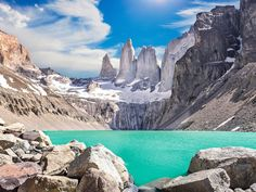 Torres del Paine mountains, Patagonia, Chile by Maciej Bledowski Parc National Torres Del Paine, Best Places To Travel, Places To Visit, Chile Tours, In Patagonia, Equador, Park Around, Countries Of The World, Where To Go
