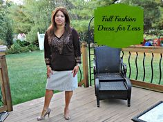 Fall Fashion #frugalfashionista #dedivahdeals  #thrifted #consigned #dressforless